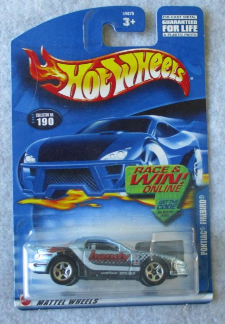 Hot Wheels Pontiac Firebird 190