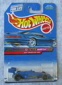 Hot Wheels Blue Mad Racer
