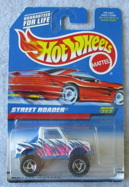 Hot Wheels White Beach Patrol
