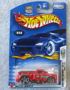 Hot Wheels 2003 Red F150