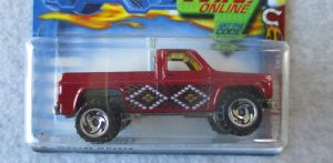Hot Wheels #58 Red Pick Up
