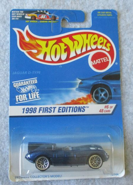 Hot Wheels 1998 Jaguar 638