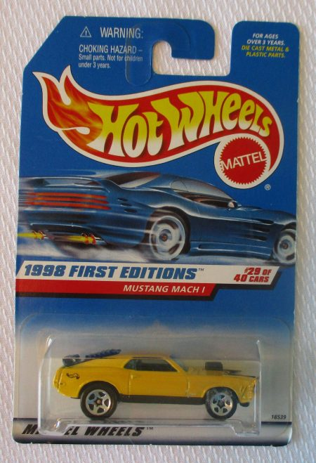 Hot Wheels Mustang Mach 1