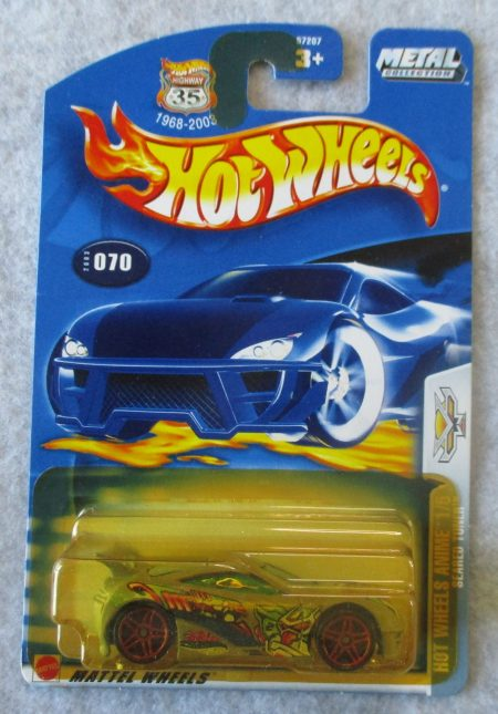 Hot Wheels Anime 70
