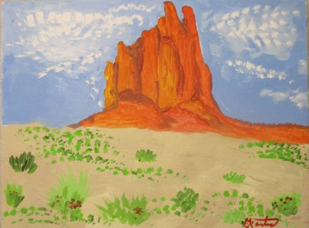 southwest mountains Martice original painting