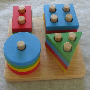 Wooden Shape Toy For Toddlers