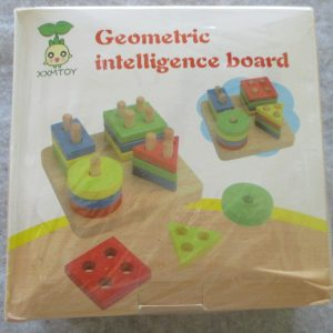 Wooden Shape Puzzle For Toddlers