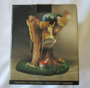 Young Rider Treehouse Figurine