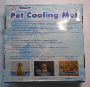 KEEPS PET SLEEPING AREA COOL