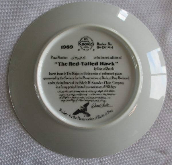 COLLECTORS PLATE BY DANIEL SMITH