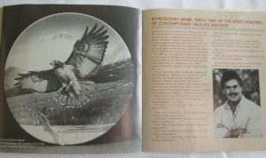KNOWLES LIMITED EDITION Collector Plate