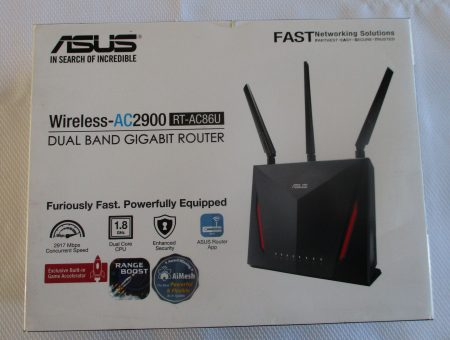 ASUS WIRELESS GIGABIT GAMING ROUTER