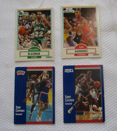 Basketball Cards lot 302 front